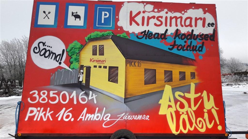 Kirsimari reklaam