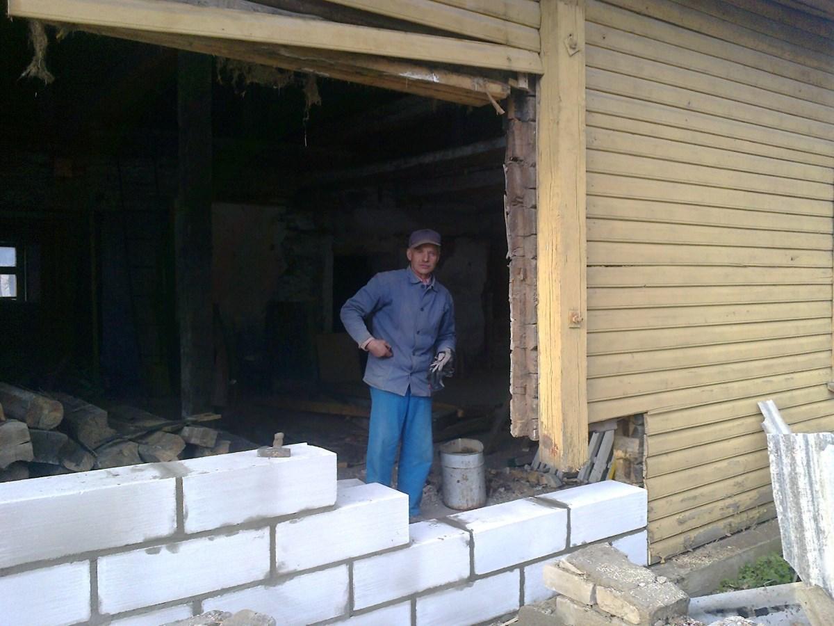 Uue seina ehitus